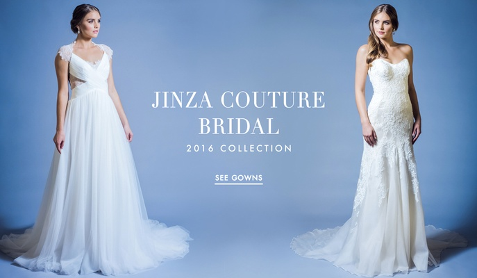 Wedding Dresses Jinza Couture Bridal 2016 Collection Inside Weddings