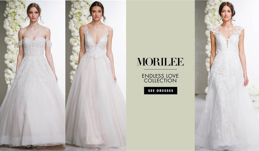wedding dresses from the Fall Winter 2018 Endless Love collection by Morilee by Madeline Gardner