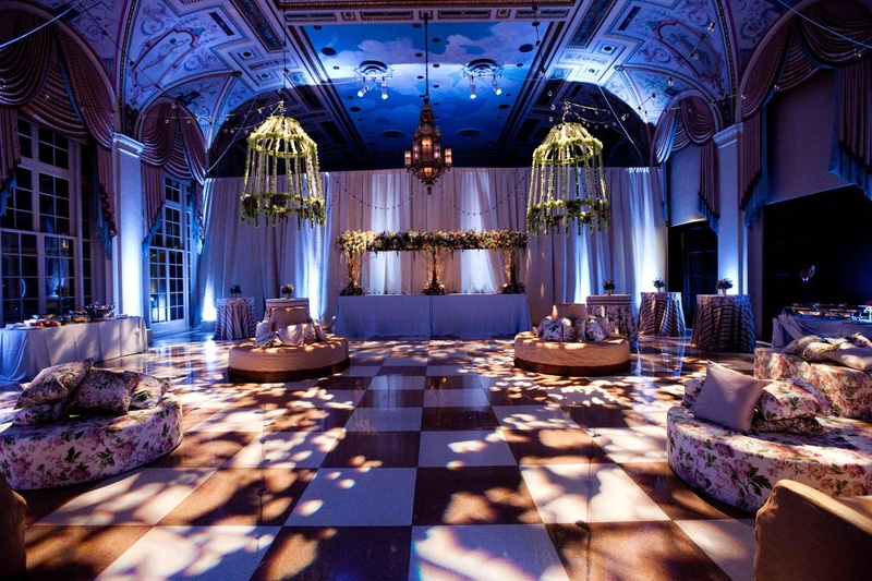 Mediterranean Ballroom at The Breakers rest area wedding