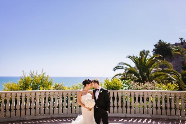 California wedding, ocean scenery Bel-Air Bay club wedding venue
