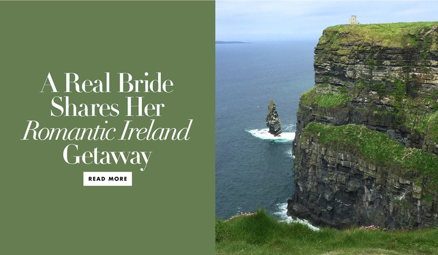 A real bride shares her romantic vacation to Ireland, Dublin Irish countryside Ballyfin and more