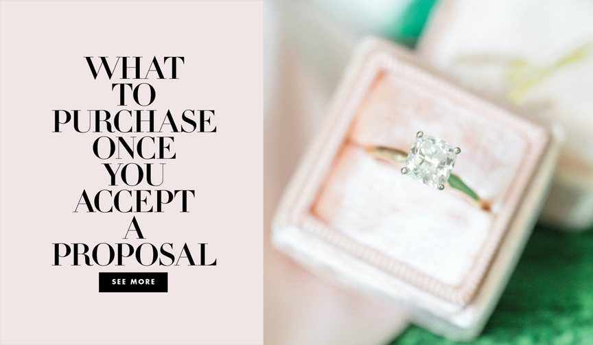 What to purchase once you accept a proposal