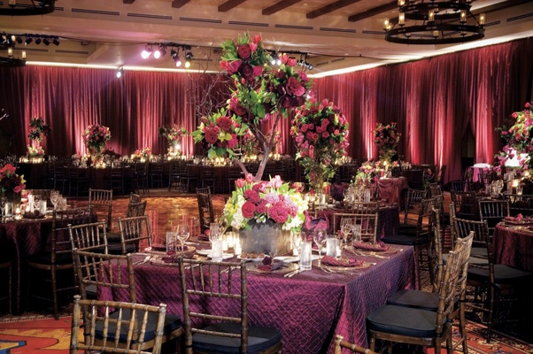 Ojai Valley Inn ballroom reception space
