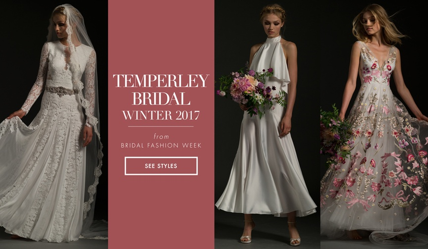 be200163f9e See more wedding dresses from the winter 2017 Jasmin bridal collection by  Temperley Bridal. Quick Read