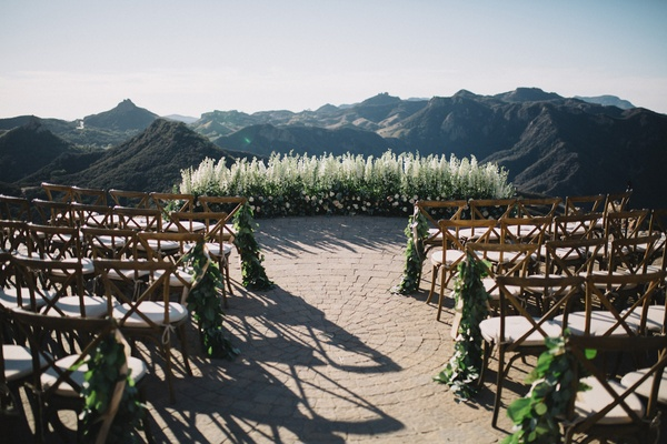 Malibu Rocky Oaks Wedding.Gorgeous Alfresco Wedding With Stunning Mountain Views In Malibu