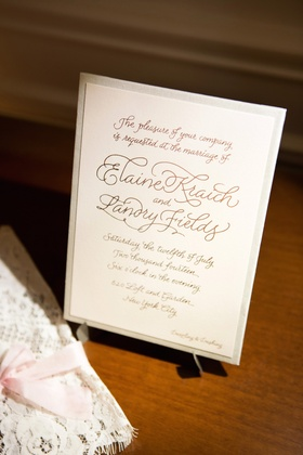 Toronto Raptors Landry Fields wedding invite