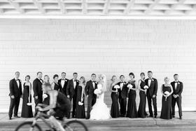 Bridal Party formals at Shutters on the Beach Santa Monica CA