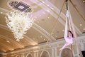 Unique Entertainment at the reception-Aerial silks