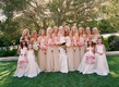 Bridesmaids, flower girls, and attendants