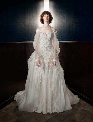 Intricate Victorian-Inspired Wedding Dresses by Galia Lahav Spring ...