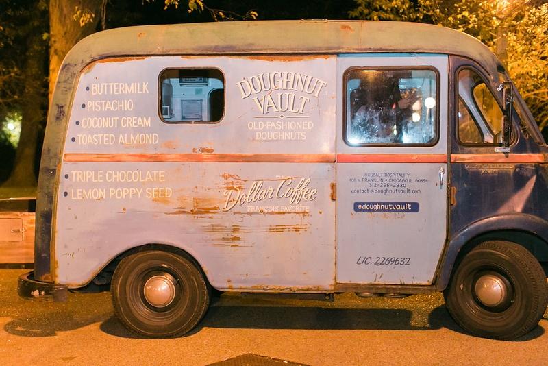 Wedding favors doughnut vault wedding reception ideas late night snacks