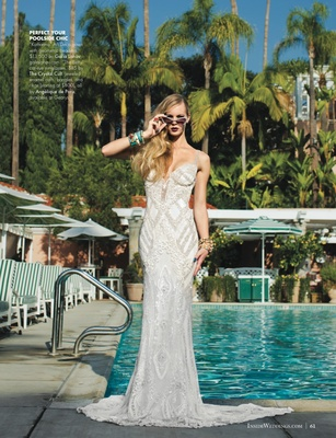 Wedding dresses the beverly hills hotel fashion editorial for Beverly hills wedding dresses