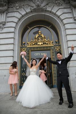Romantic City Hall Wedding with Korean Influences in San Francisco ...
