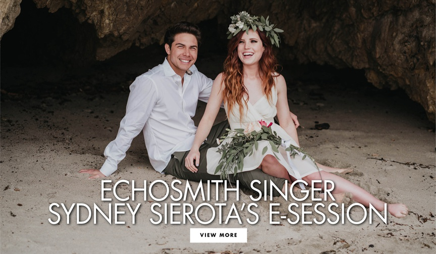 See more of Echosmith singer Sydney Sierota's Malibu engagement shoot with Cameron Quiseng at El Mat