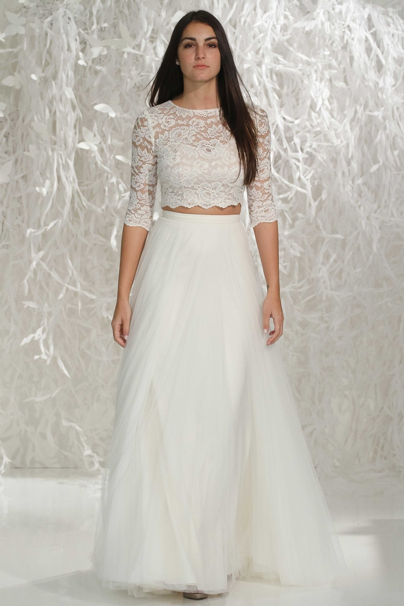 wedding dresses photos lanikai top amora skirt by