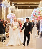 rob refsnyder of new york yankees and wife after wedding