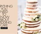 Everything you need to know about wedding cake when to serve how and more details