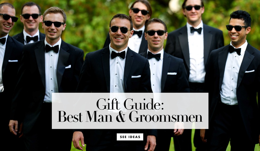 Holiday Gift Guide for the Best Man and Groomsmen best friends men's gift ideas