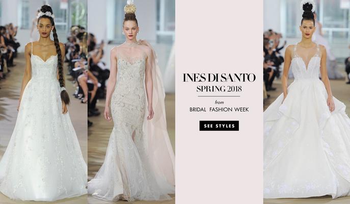 5099f98fb4af dramatic wedding dresses gowns ines di santo spring 2018 designer beautiful bride  bridal