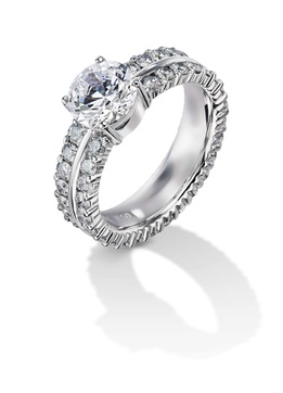 Furrer Jacot 53-66242-0-W white gold engagement ring