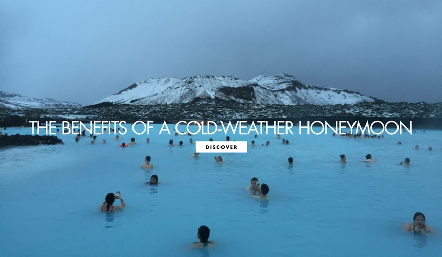 iceland honeymoon, benefits of a cold-weather honeymoon
