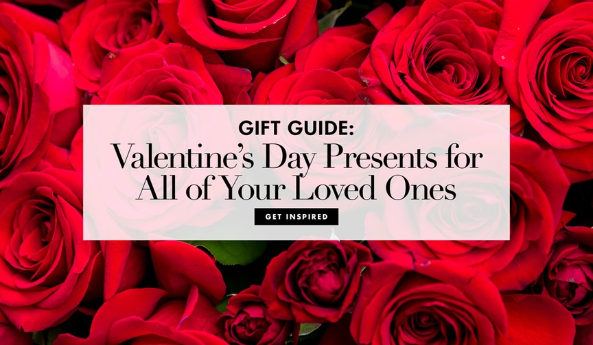 Valentine's Day gift guide and Galentine's Day gift ideas