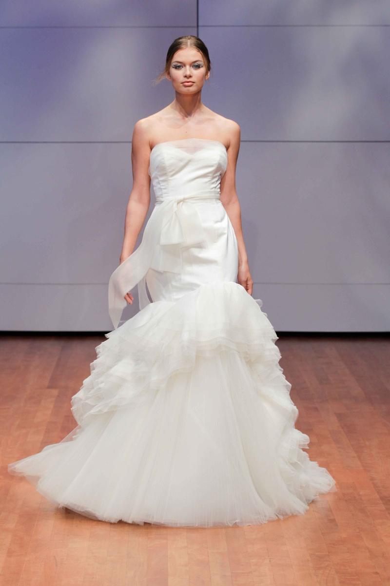Wedding Dresses Photos - Diaphanous Drifts Gown by RIVINI - Inside ...