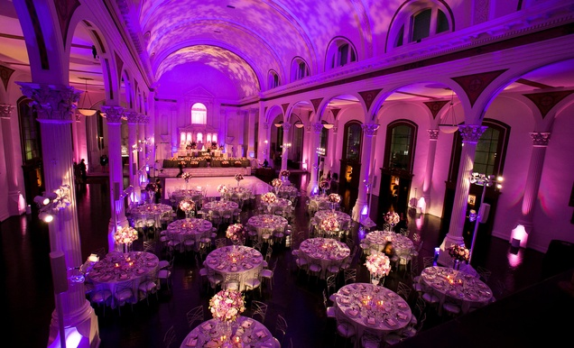 Nfl super bowl winner brandon mebane 39 s los angeles wedding inside weddings - Small event spaces los angeles ideas ...