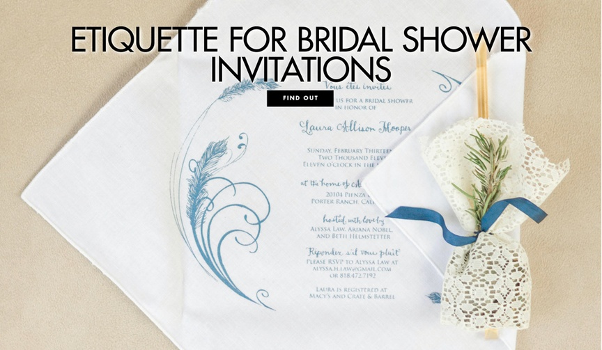Make sure the guests see everything they need to know.