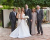 La Quinta resort and club wedding mother of bride groom in taupe outfit father in suit sister
