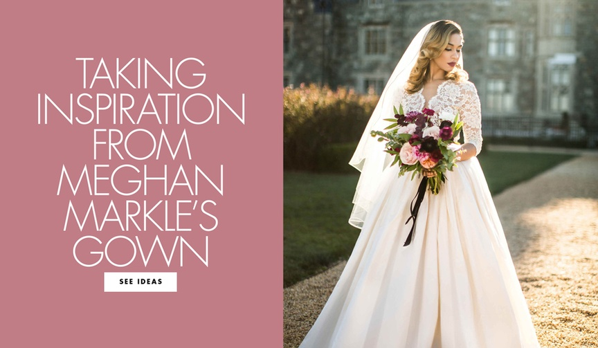 Wedding inspiration for dresses that look similar to meghan markle royal wedding look