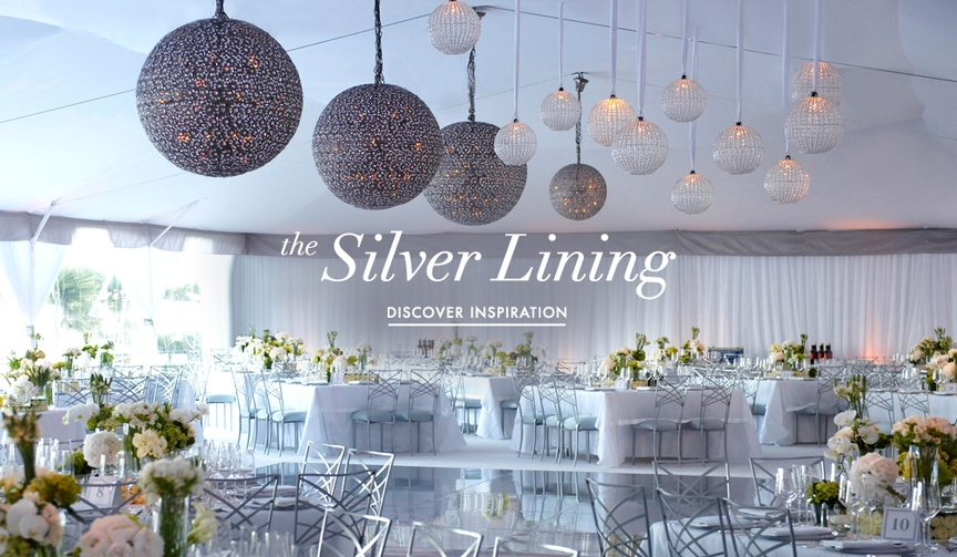 Planning amp design news theme ideas inside weddings get inspired by these metallic silver decoration elements junglespirit Image collections