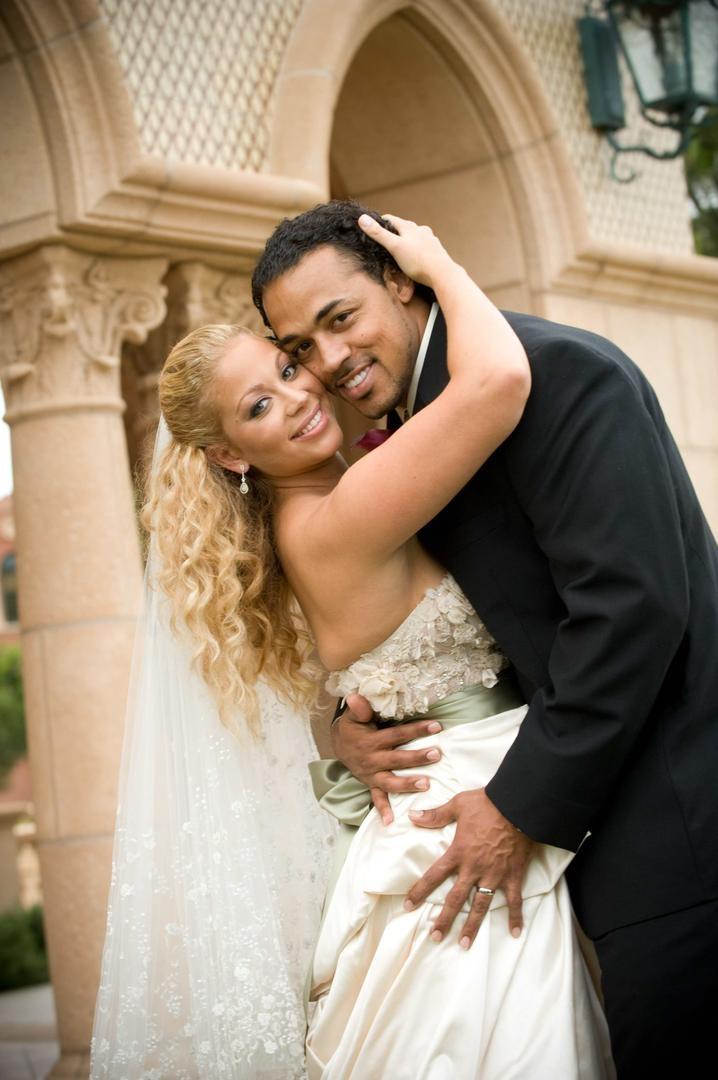 Couples Photos - NFL Player Nicholas Barnett and Bride - Inside Weddings