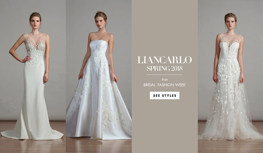 liancarlo spring bridal collection 2018 bridal fashion week new york fashion runway