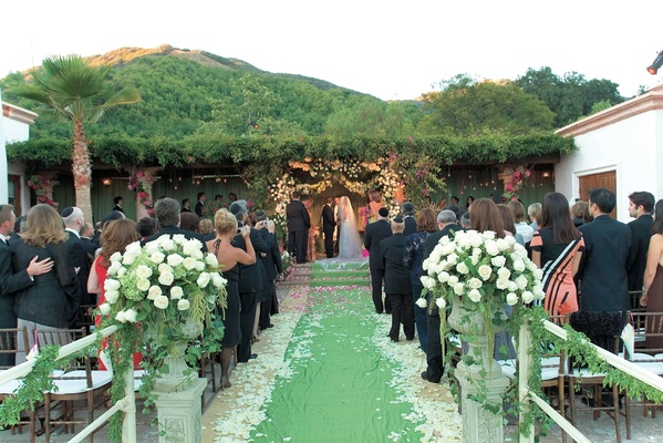 Tuscan Inspired Vineyard Wedding In Malibu California