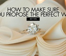 solitaire diamond engagement ring on shoe ruffle, dos and don'ts of proposing