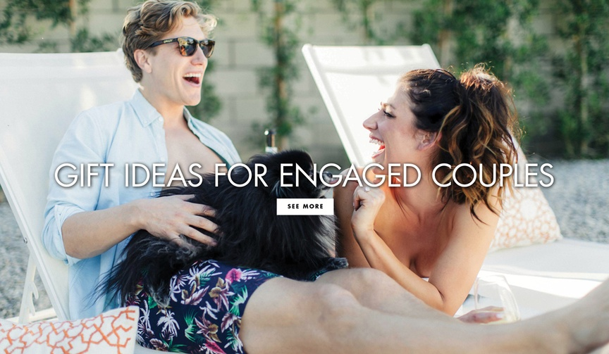 Gift ideas for engagement parties engaged couple gift ideas