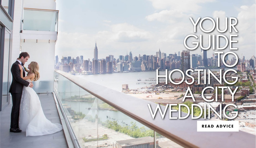 your guide to hosting a city wedding in a metropolitan area