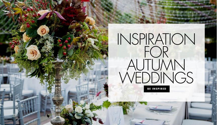 fall wedding inspiration, ideas for a fall wedding, decor inspiration for fall weddings