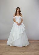 Liancarlo Spring 2020 bridal collection wedding dress off shoulder detachable straps ball gown silk