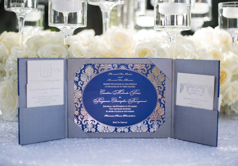 invitations more photos royal blue silver invitation inside