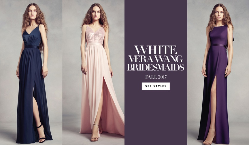 white by vera wang fall 2017 bridesmaid dresses collection blush midnight amethyst davids bridal