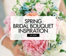 Spring bridal bouquet inspiration wedding ideas colors for spring wedding bouquets