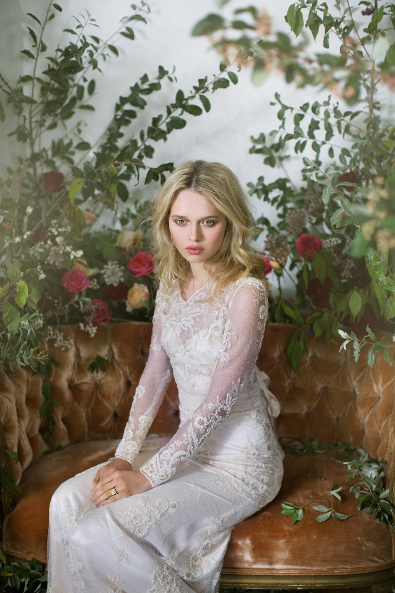 "Claire Pettibone Fall 2016 Couture Wedding Dresses ""The Gilded Age Bridal Campaign"""