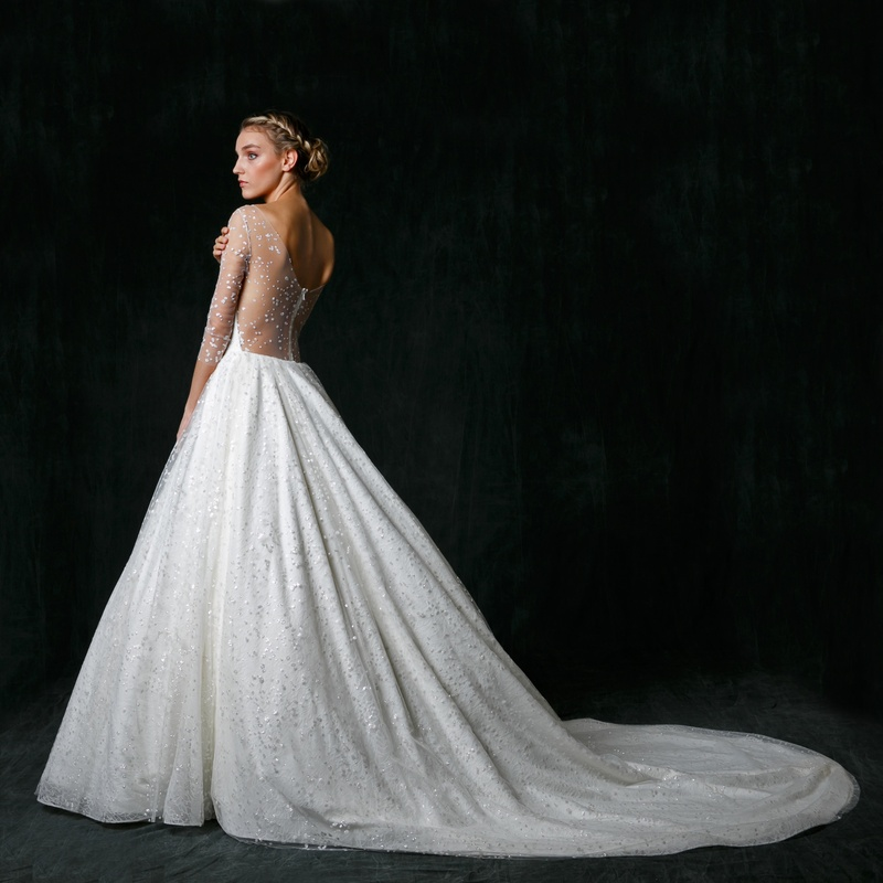 "Dramatic Ball Gown Wedding Dresses: ""Nannette"" By Sareh Nouri"