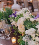 Floral arrangements at Nick Carter and Lauren Kitt's wedding