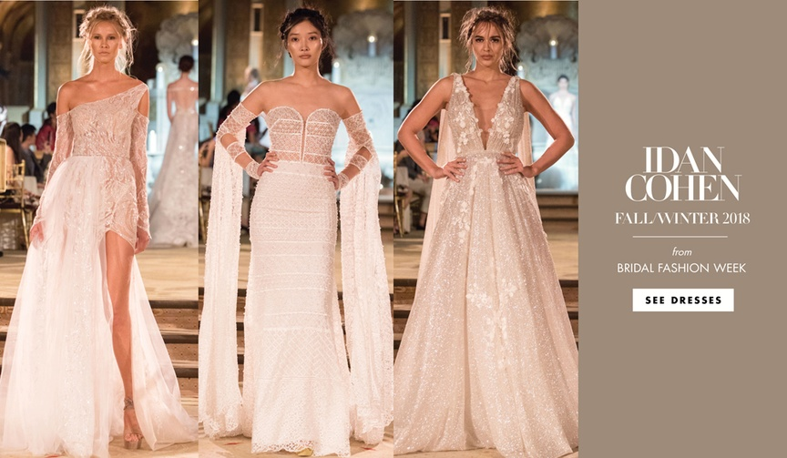 Idan Cohen Fall Winter 2018 Empire of Love wedding dresses bridal gowns