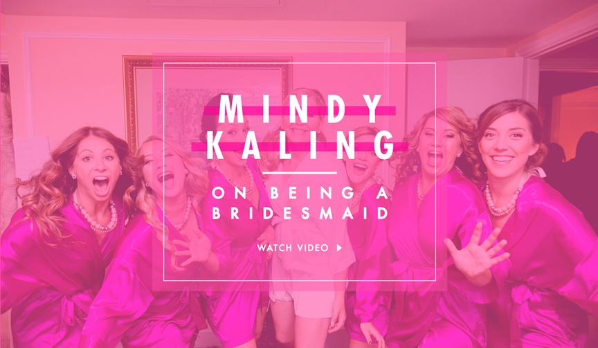 Mindy Kaling Seth Meyers Bridesmaid vs Groomsman