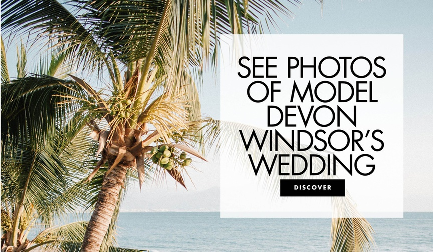 See photos of model devon windsor wedding to johnny dex barbara in st barths