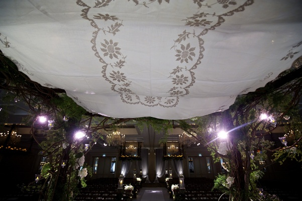 Sentimental Jewish chuppah roof